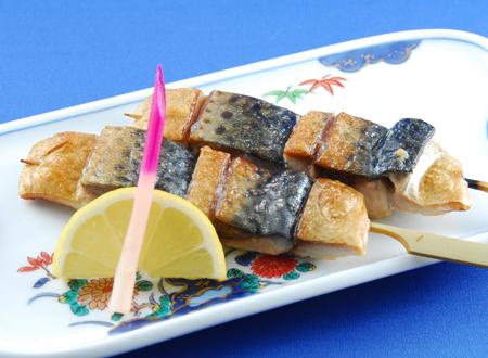 サバの串焼き